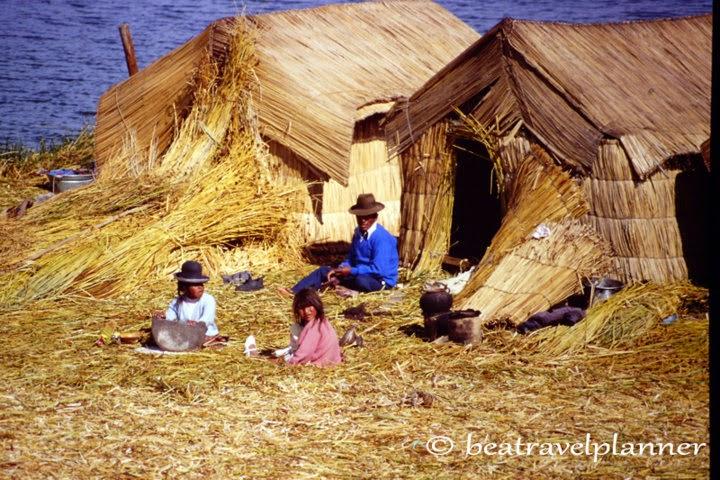Uros - lago Titicaca