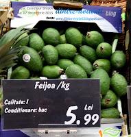 Feijoa - Acca sellowiana, ruda guavei, deci și a mărului prin alianță {review}