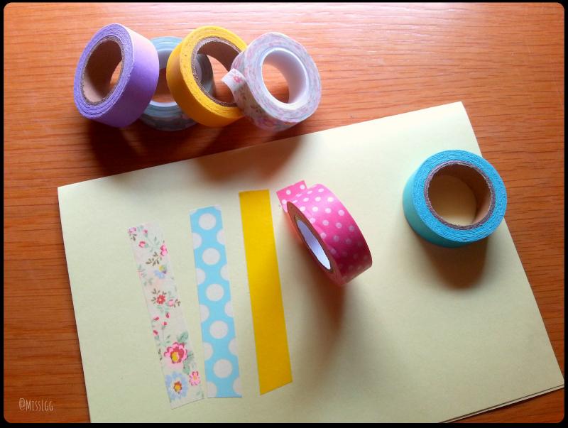 hacer tarjeta cumpleaños con washi tape happy birthday