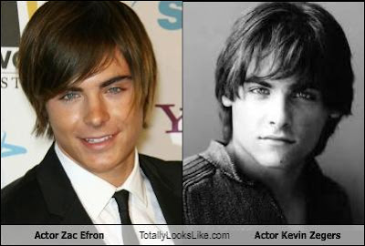Zac Efron looks like Kevin Zegers, Handsome man, hollywood actor, hot male, good looking guy