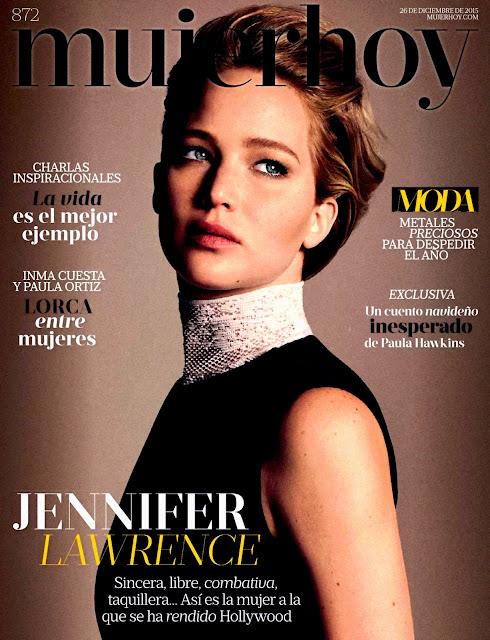 Actress, @ Jennifer Lawrence - 'Mujer Hoy' Magazine