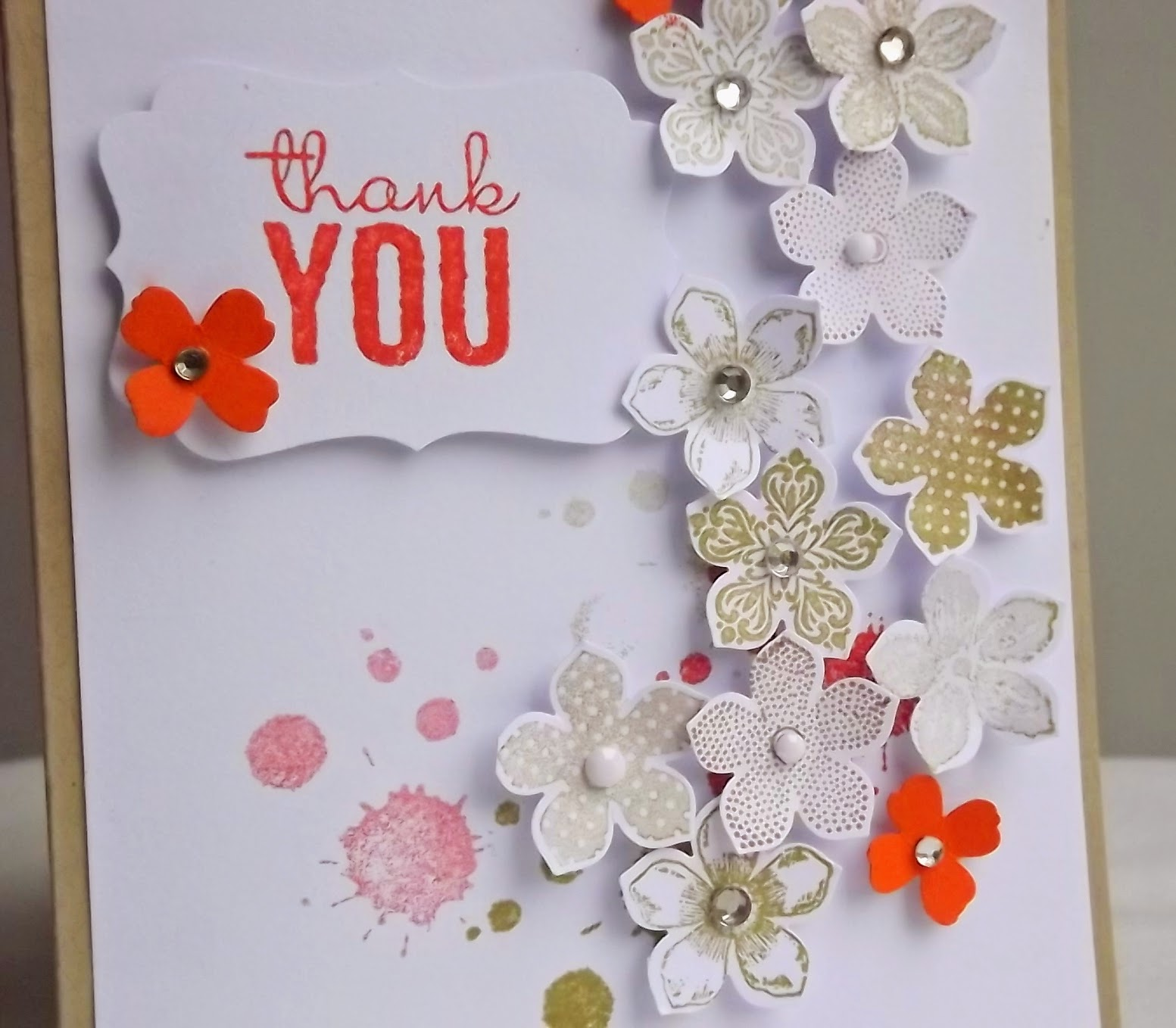 Stampin Up! Petite Petals card