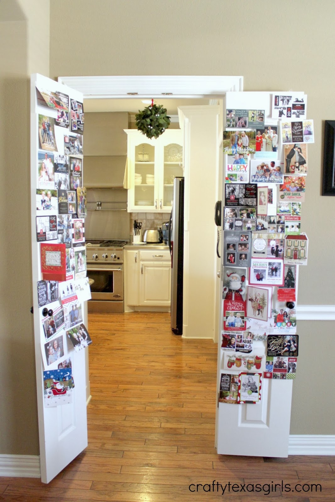 Crafty Texas Girls: How to Save Christmas Cards
