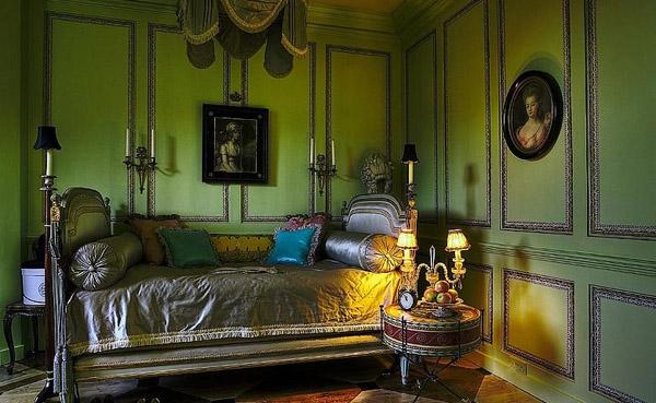 cama de dos cabezales antigua