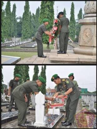 Kasdam II/Sriwijaya Pimpin Acara Ziarah Bersama