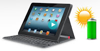 Logitech Solar Keyboard Folio per iPad