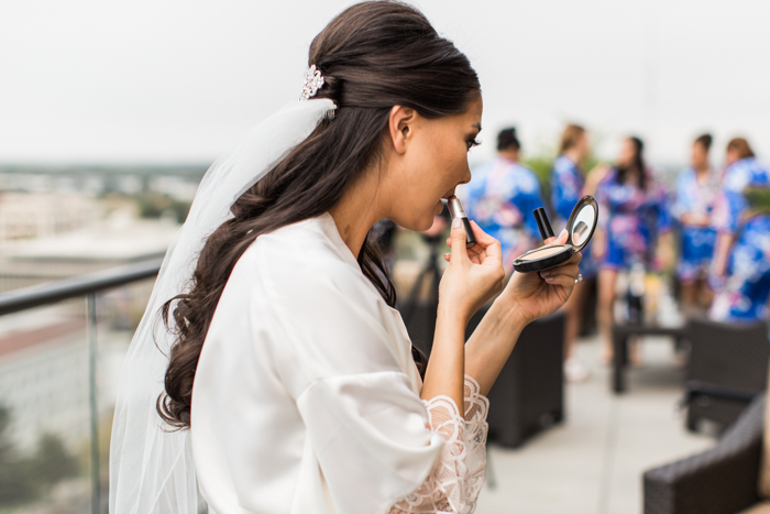 fashion blogger wedding