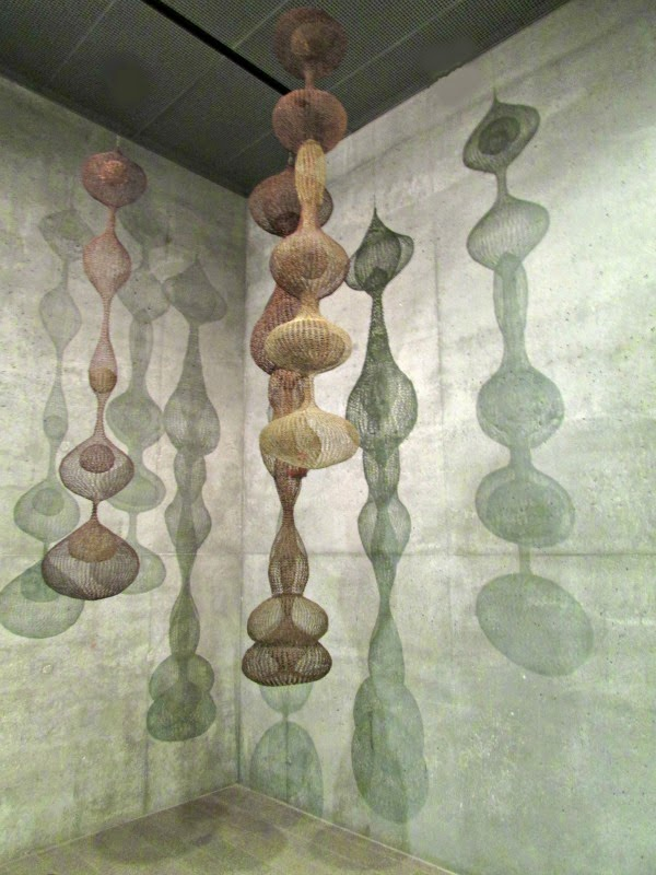 Hamon Observatory Tower // Ruth Asawa Art Exhibit