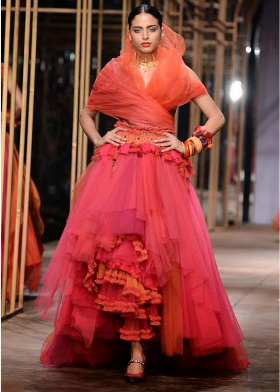 44 pm jek senx amby valley bridal week designers lahenga fashion 2013