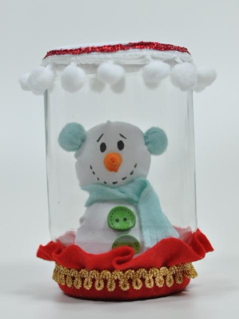 À VENDA - Boneco de neve no vidro