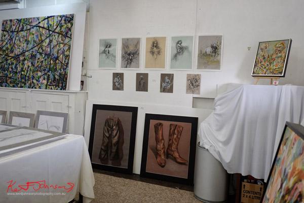 Artworks, Rita Karagelinian studio.