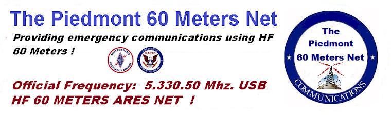 The Piedmont 60 Meters Net