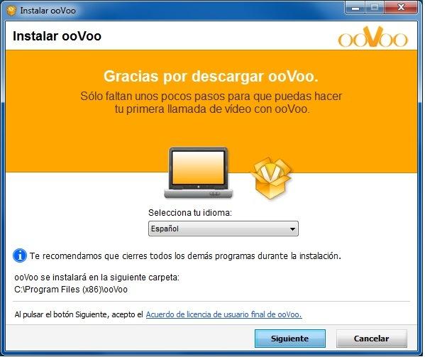 ooVoo español programa de mensajeria instantanea