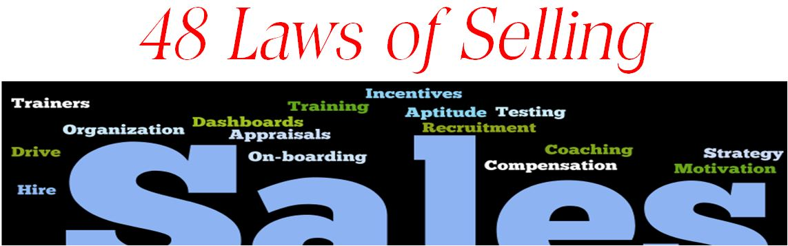 48 Laws of Selling Power