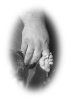 Nanna Banana holding daddy's hand