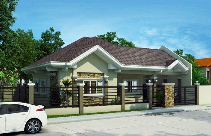 Free lay out and estimate philippine bungalow house for Bungalow house plans philippines