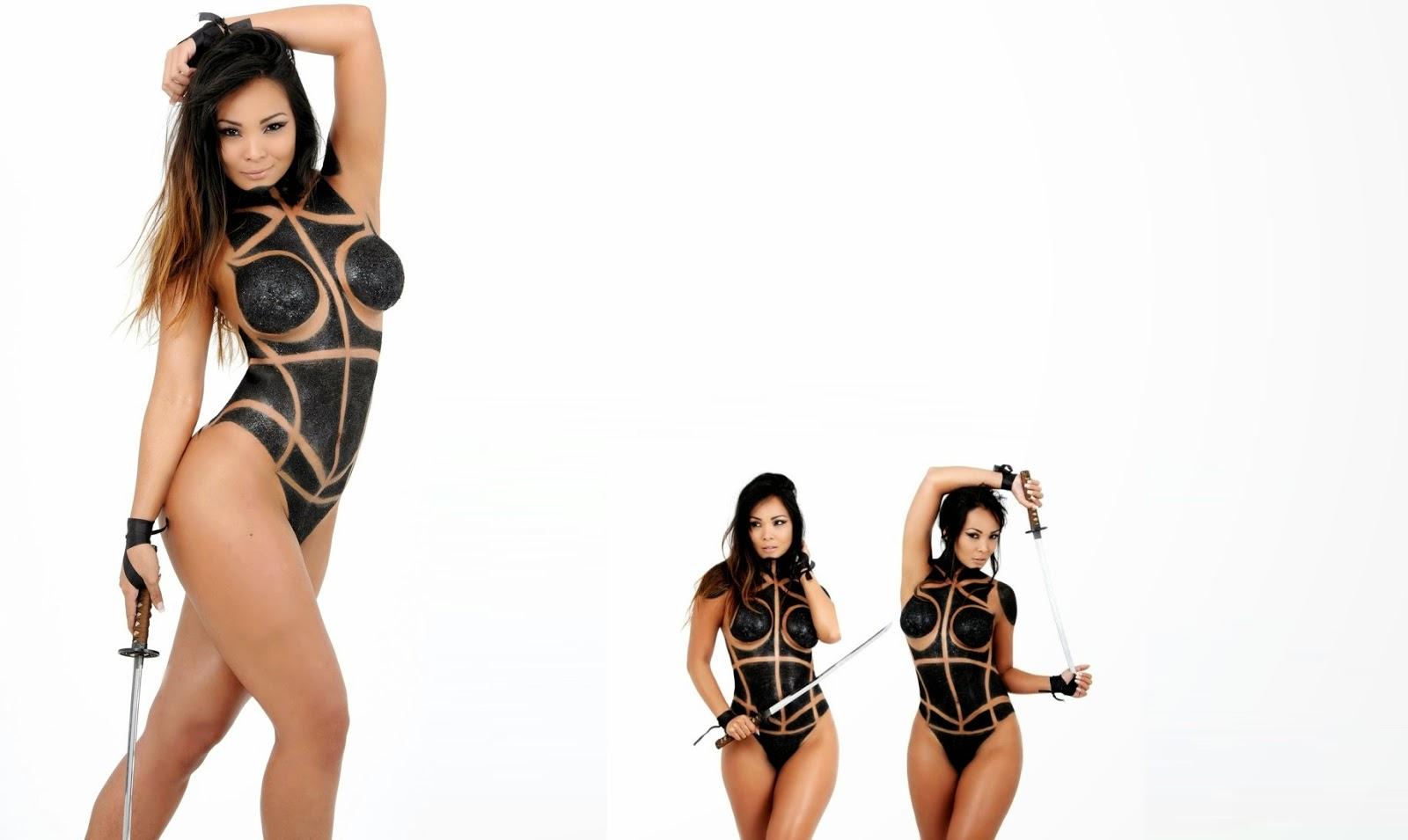 Carol Nakamura bailarina do Domingão é uma tricolor convicta