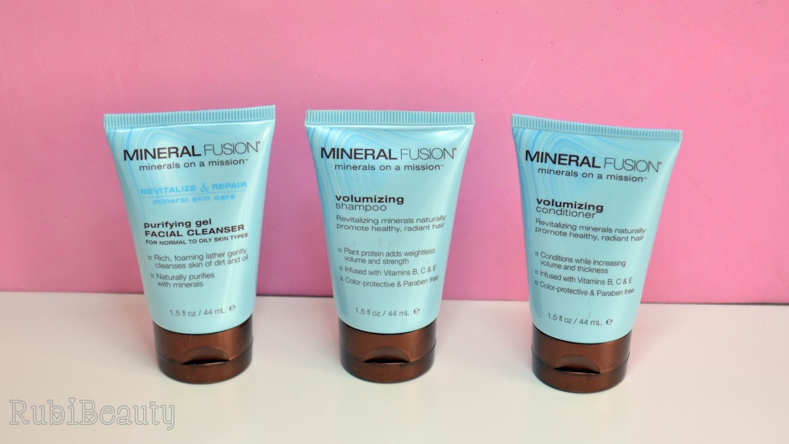 iherb haul review impresiones opinion compras mineral fusion volumen champu