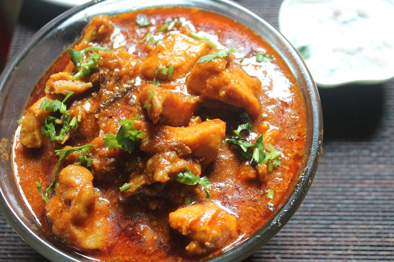 Chicken Gravy Recipe South Indian Chicken Gravy Recipe Yummy Tummy