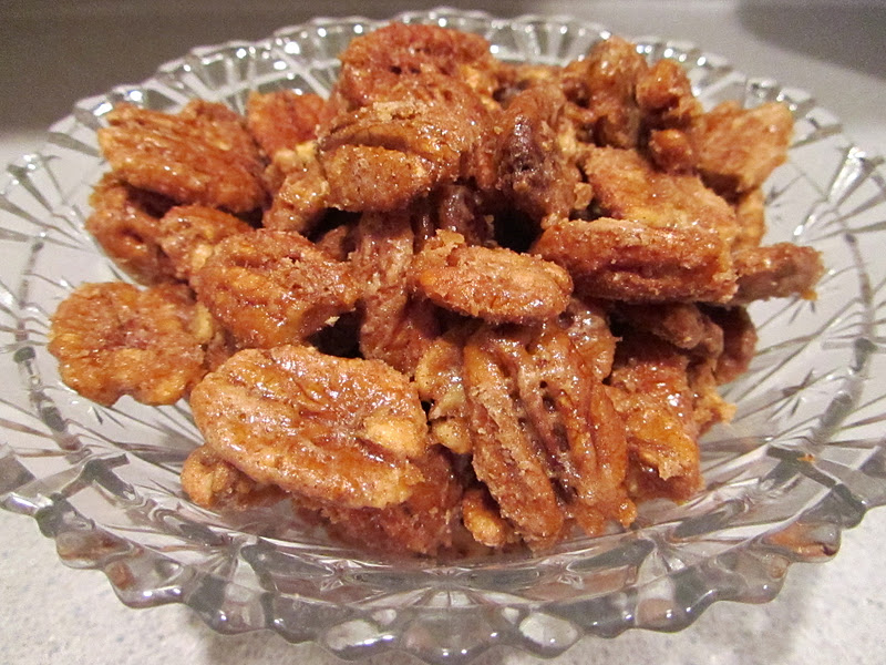 Candied Pecans}
