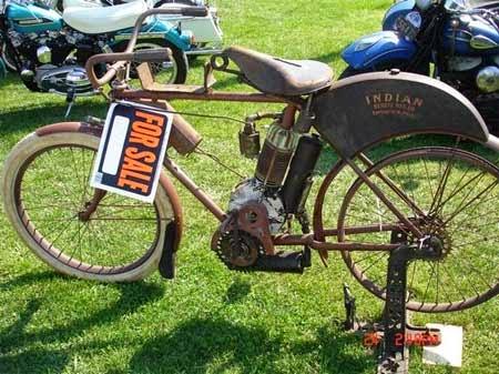 harga motor antik kuno
