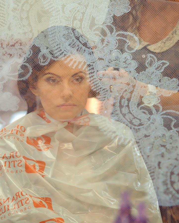 """Vestuvinė šukuosena grožio studijoje """"Oranžinis stilius"""""""