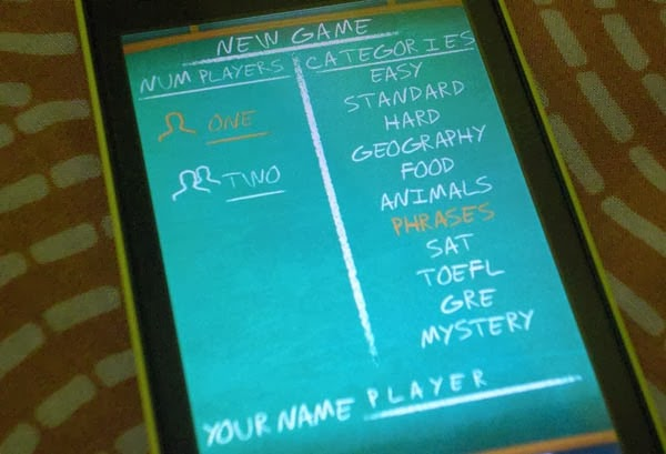 hangman pro windows phone store