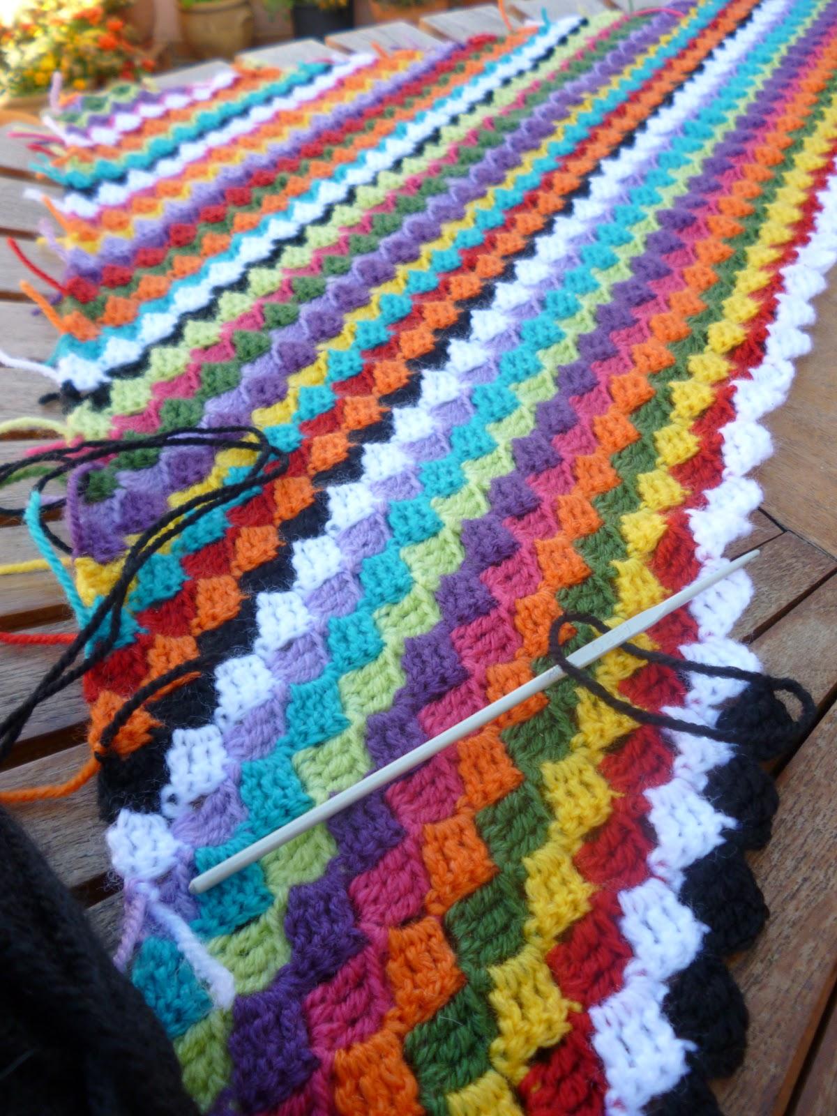 Hebra de lana dias corrientes - Mantas de punto a dos agujas ...
