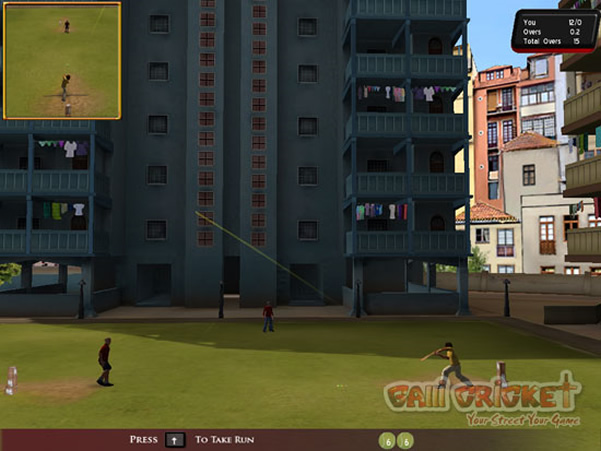 Street Cricket 2010 Free Download Full Version PC Game