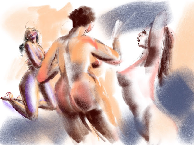 Croquis by Artmagenta