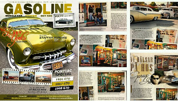 GASOLINE Magazine Sweden-Shop feature