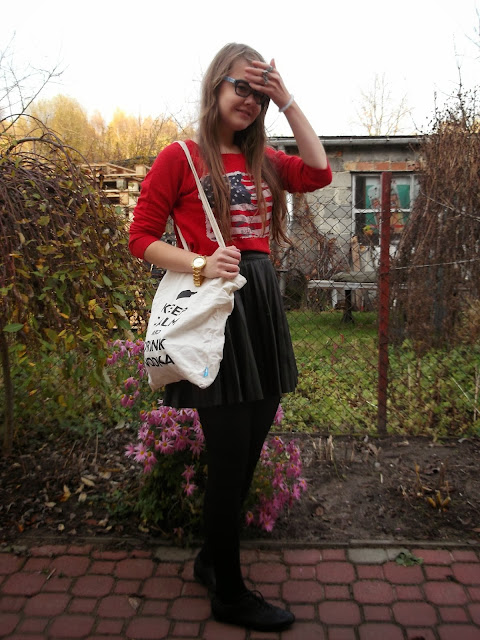OOTD: All in Gina Tricot from second hand