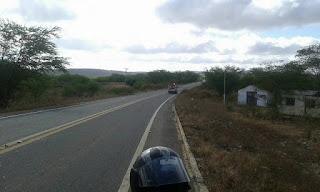 Em Cuité, motos colidem na ladeira do Campo Comprido e deixa dois feridos
