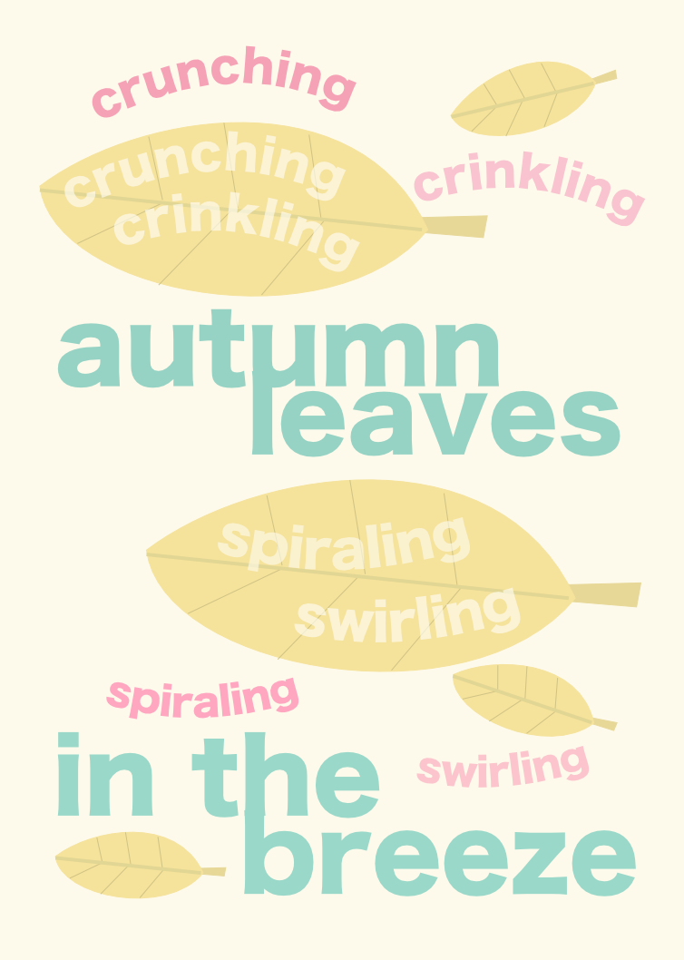 Free printable autumn quote wall art: fall nursery rhyme ...