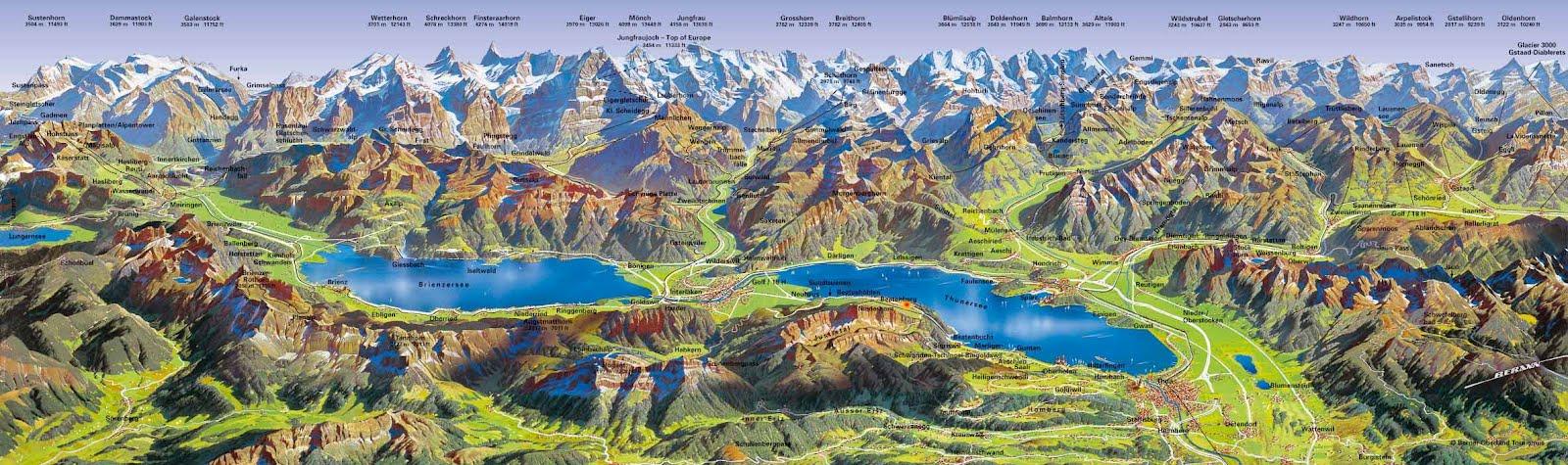 Adhemar la navigation sur le lac de brienz suisse - Lac de brienz ...