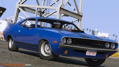 Baixar carro Dodge Challenger RT 440 Six Pack 1970 Para GTA V