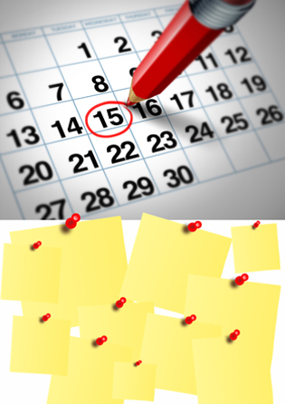 Programación y Calendario Pastoral 17 - 18
