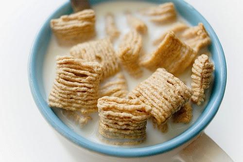 Tabla de índice glucémico - Cereales de desayuno con leche