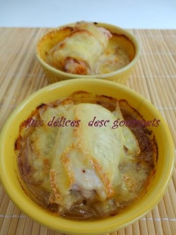 Aux d lices des gourmets filet de poulet au maroilles - Filet de poulet au four ...