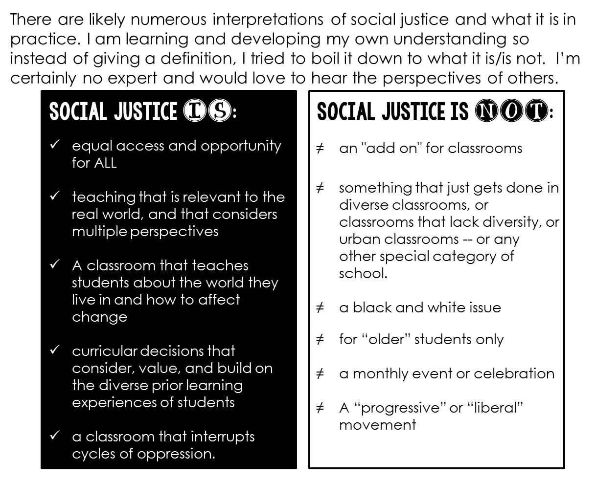 social justice in education Object moved this document may be found here.