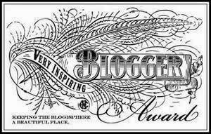 2013 Inspiring Blogger Award