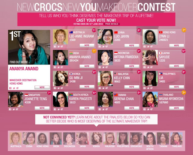 New Crocs New You Makeover Contest