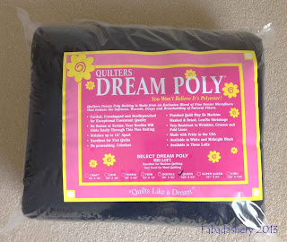 Quilters Dream Poly Batting - Midnight Black