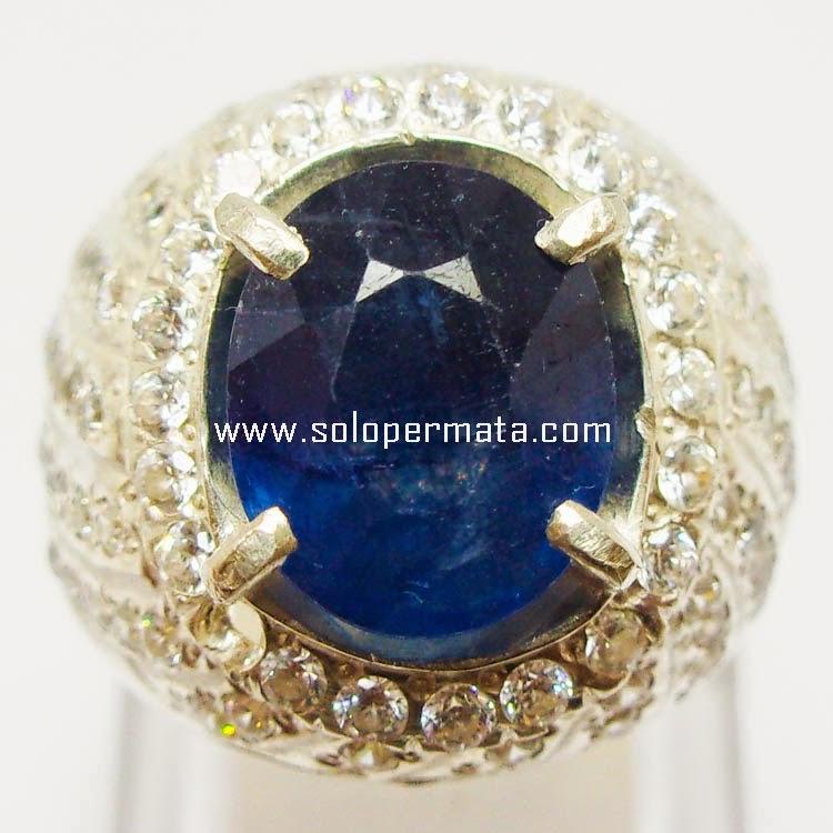 Batu Permata Royal Blue Sapphire - Sp019]
