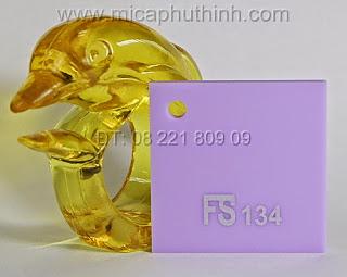 Mica màu TÍM NHẠT FS 116