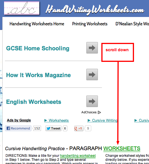 Paragraph Handwriting Worksheets Worksheets for all | Download and ...