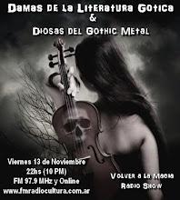 Damas de la Literatura Gotica Parte 1 & Diosas del Gothic Metal