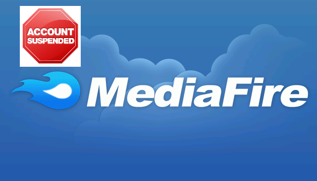 Mediafire-account-suspended