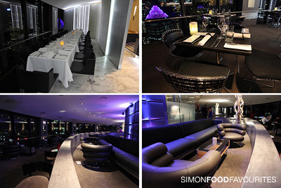 Simon food favourites o bar and dining launch cbd sydney for O bar private dining room