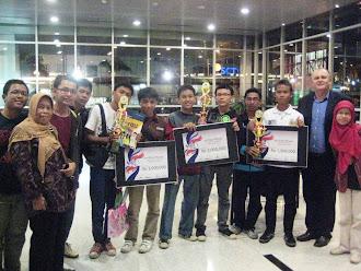 1st 2nd 3rd winner | Simbiz JA Titan @ Binus University 2010